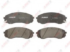 Тормозные колодки передние ABE C10327ABE, дисковые