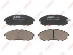 Тормозные колодки передние ABE C10506ABE, дисковые