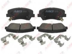 Тормозные колодки передние ABE C10529ABE, дисковые