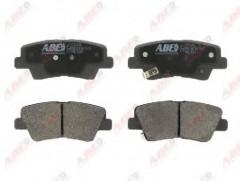 Тормозные колодки задние ABE C20314ABE, дисковые