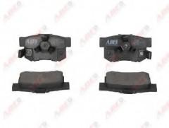 Тормозные колодки задние ABE C24020ABE, дисковые