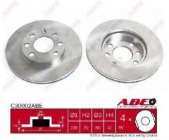 Комплект передних тормозных дисков ABE C30002ABE (2 шт.)