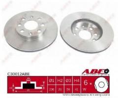 Комплект передних тормозных дисков ABE C30012ABE (2 шт.)