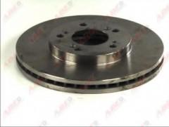Комплект передних тормозных дисков ABE C34029ABE (2 шт.)