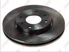 Фото 2 - Комплект передних тормозных дисков ABE C35036ABE (2 шт.)