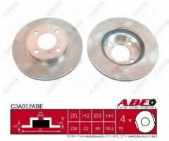 Комплект передних тормозных дисков ABE C3A012ABE (2 шт.)