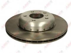 Комплект передних тормозных дисков ABE C3B041ABE (2 шт.)