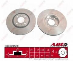 Комплект передних тормозных дисков ABE C3C020ABE (2 шт.)