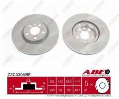 Комплект передних тормозных дисков ABE C3C030ABE (2 шт.)