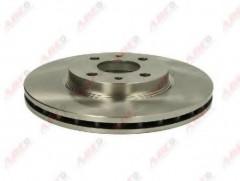 Комплект передних тормозных дисков ABE C3F015ABE (2 шт.)