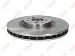 Комплект передних тормозных дисков ABE C3F034ABE (2 шт.)
