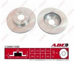 Комплект передних тормозных дисков ABE C3M067ABE (2 шт.)