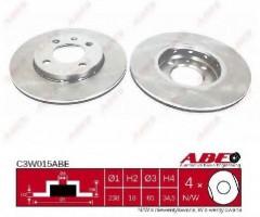 Комплект передних тормозных дисков ABE C3W015ABE (2 шт.)