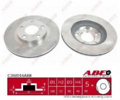 Комплект тормозных дисков ABE C3W016ABE (2 шт.)