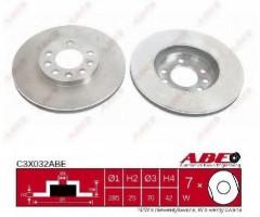 Комплект передних тормозных дисков ABE C3X032ABE (2 шт.)