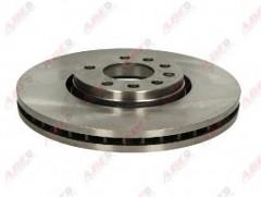 Комплект передних тормозных дисков ABE C3X033ABE (2 шт.)