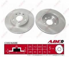 Комплект передних тормозных дисков ABE C3X036ABE (2 шт.)