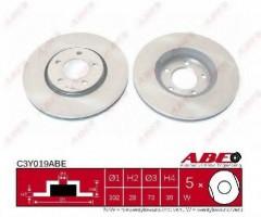 Комплект передних тормозных дисков ABE C3Y019ABE (2 шт.)