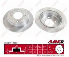 Комплект задних тормозных дисков ABE C40311ABE (2 шт.)