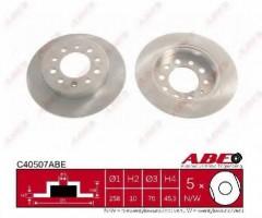 Комплект задних тормозных дисков ABE C40507ABE (2 шт.)