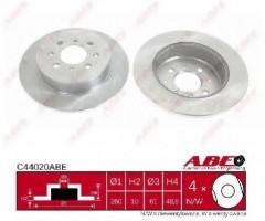 Комплект задних тормозных дисков ABE C44020ABE (2 шт.)