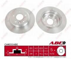 Комплект задних тормозных дисков ABE C44031ABE (2 шт.)