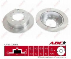 Комплект задних тормозных дисков ABE C45010ABE (2 шт.)