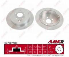 Комплект задних тормозных дисков ABE C47007ABE (2 шт.)
