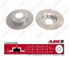Комплект задних тормозных дисков ABE C4A009ABE (2 шт.)