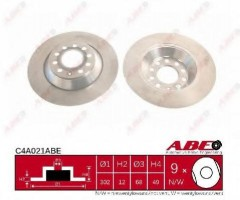 Комплект задних тормозных дисков ABE C4A021ABE (2 шт.)