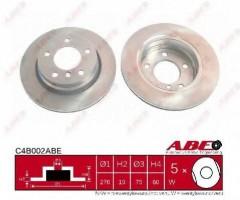 Комплект задних тормозных дисков ABE C4B002ABE (2 шт.)