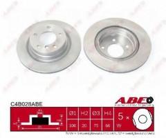 Комплект тормозных дисков ABE C4B028ABE (2 шт.)