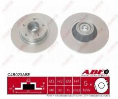 Комплект задних тормозных дисков ABE C4R023ABE (2 шт.)