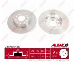 Комплект задних тормозных дисков ABE C4W015ABE (2 шт.)