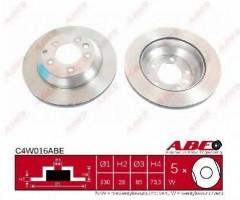 Комплект тормозных дисков ABE C4W016ABE (2 шт.)