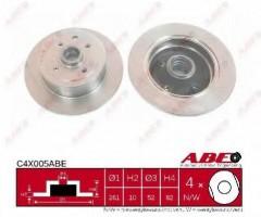 Комплект задних тормозных дисков ABE C4X005ABE (2 шт.)