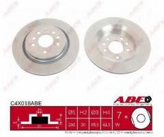 Комплект задних тормозных дисков ABE C4X018ABE (2 шт.)