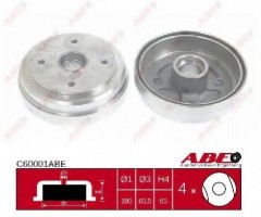 Тормозной барабан задний ABE C60001ABE
