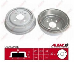 Тормозной барабан задний ABE C60002ABE