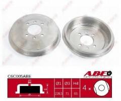 Тормозной барабан задний ABE C6C005ABE