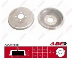 Тормозной барабан задний ABE C6D002ABE