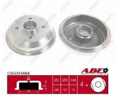 Тормозной барабан задний ABE C6G004ABE