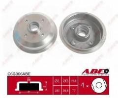 Тормозной барабан задний ABE C6G006ABE