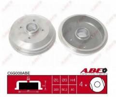 Тормозной барабан задний ABE C6G008ABE