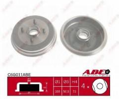 Тормозной барабан ABE C6G011ABE