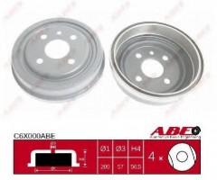 Тормозной барабан задний ABE C6X000ABE