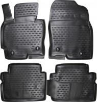 Коврики в салон для Mazda CX-5 '12-17 полиуретановые, черные (Novline)