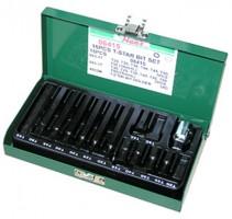 Набор бит TORX (30/75 мм), Т20-Т55. 15 предметов.