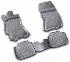 Коврики в салон для Subaru Legacy '10-14 полиуретановые (Novline / Element)