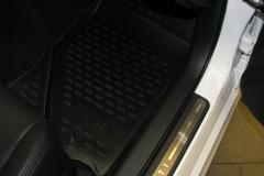 Фото 7 - Коврики в салон для Infiniti G (Q50) Sedan '10- полиуретановые (Novline)